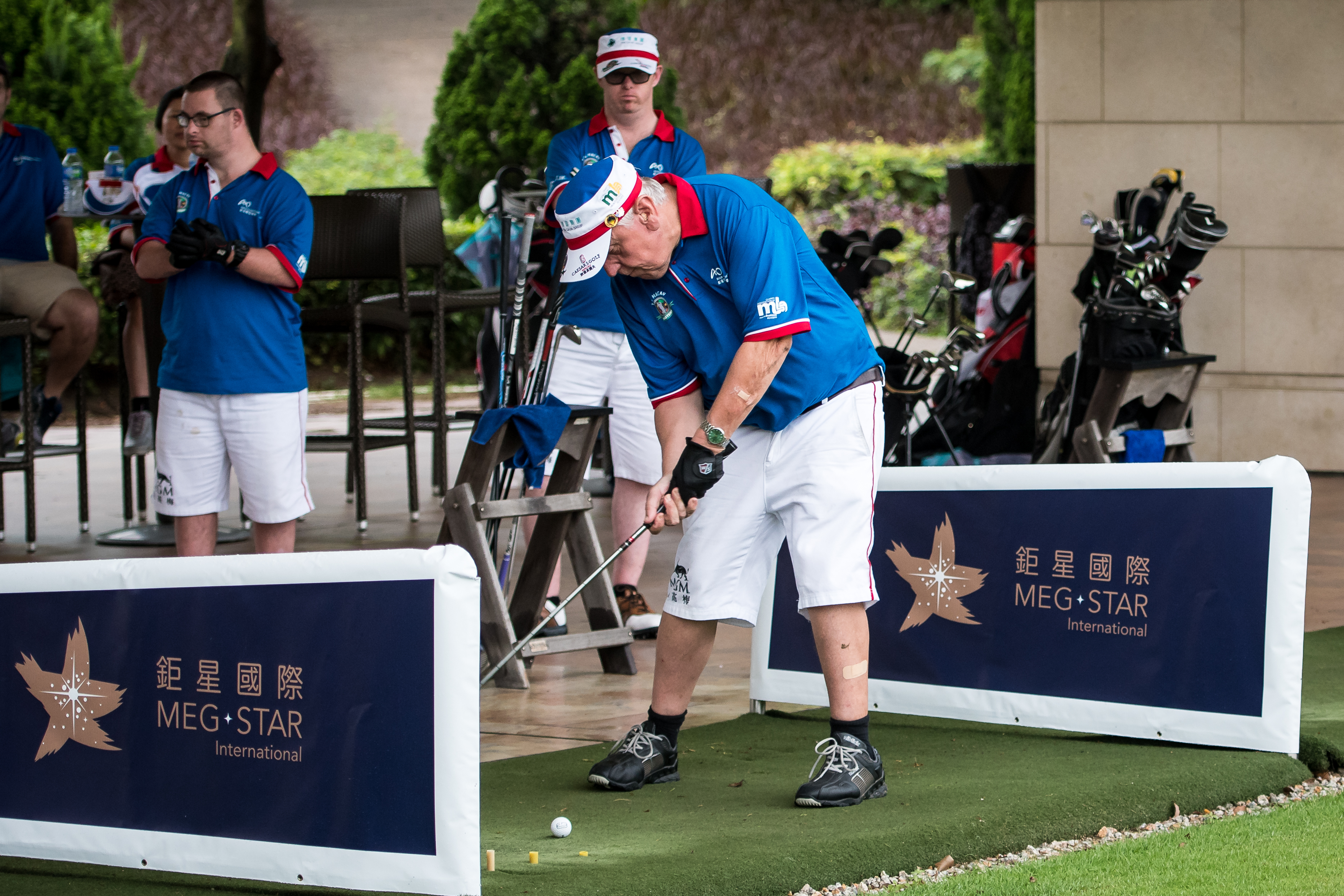 Level 2 Best Ball Gaming Format Was Secured By Macaus Homebred Special Olympics Golf Team Of Tam Chan Kit And Cheong Mui Who Are Solely Funded